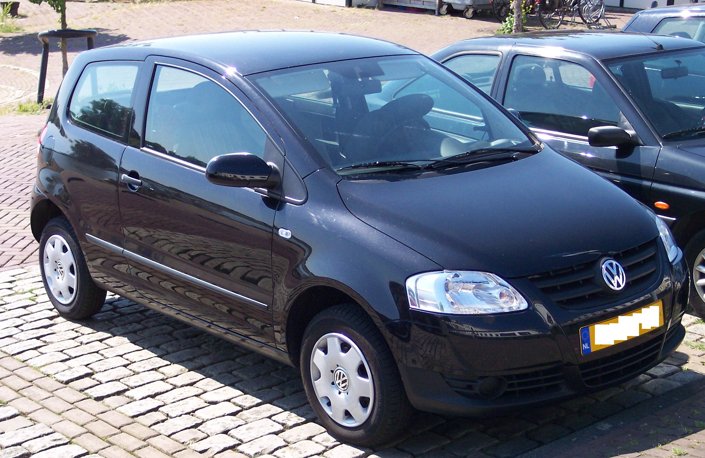 Vw Fox Black