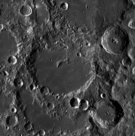 Von Kármán Crater on the Moon