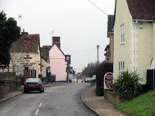 Walkern High Street. - geograph.org.uk - 118536