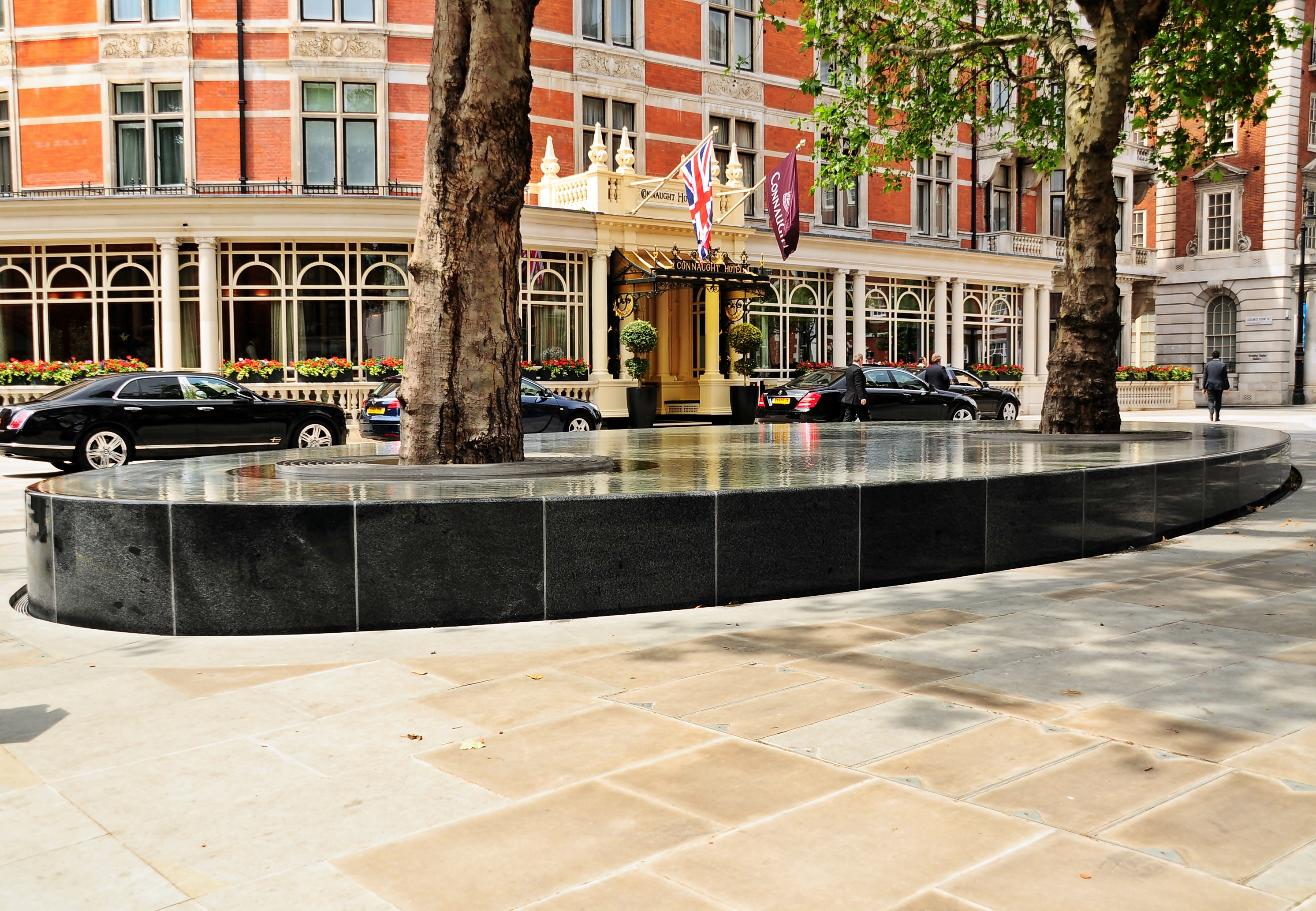 File water feature silence mayfair london jpg for Design services london