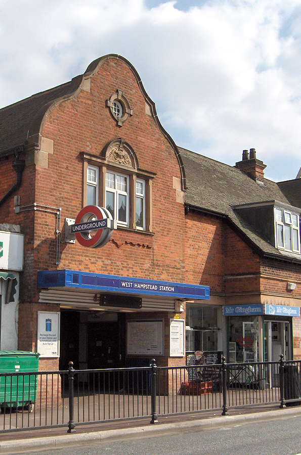 West Hampstead tube station Wikipedia