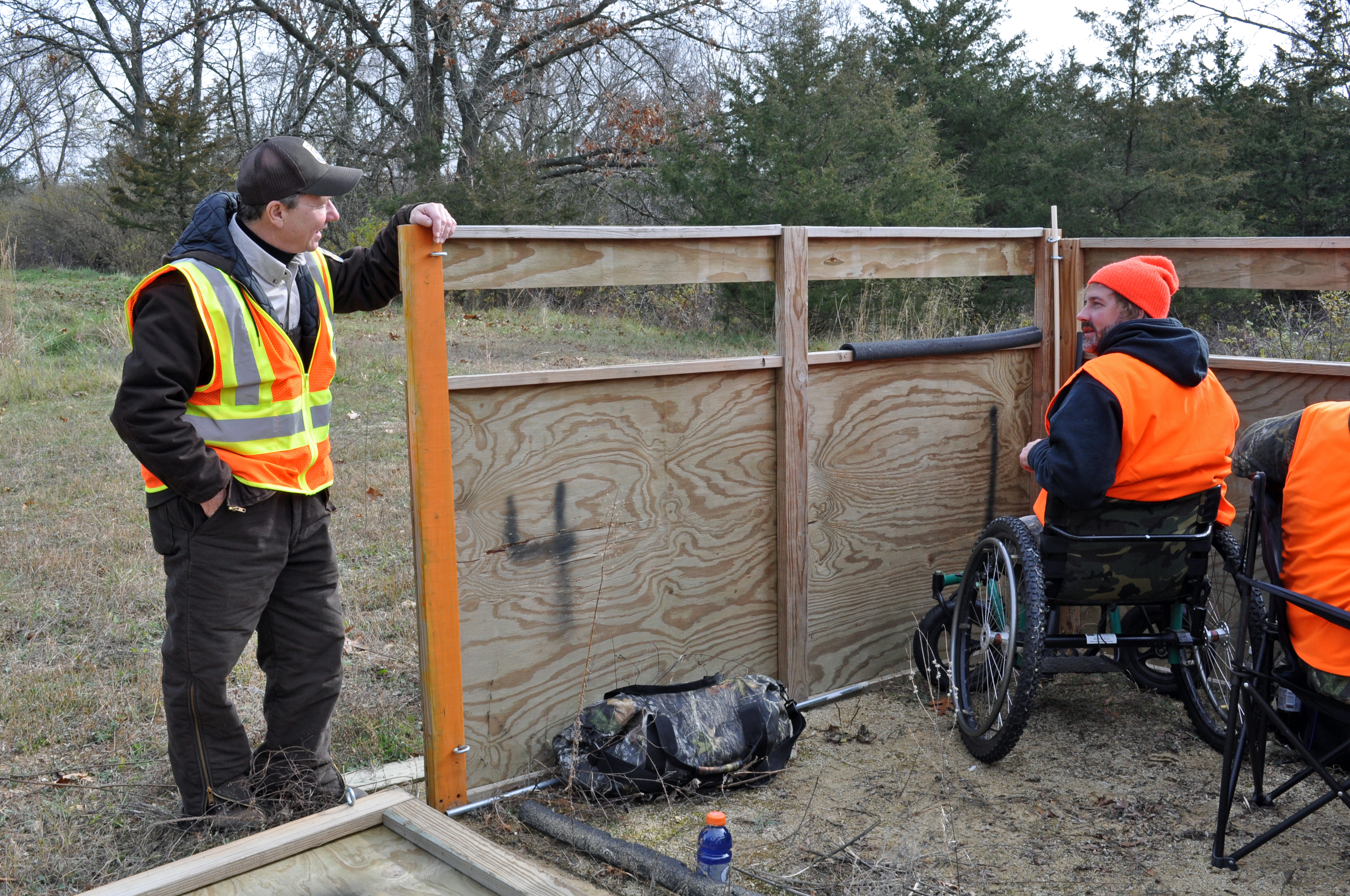 File Wheelchair Accessible Hunting Blind Jpg Wikimedia