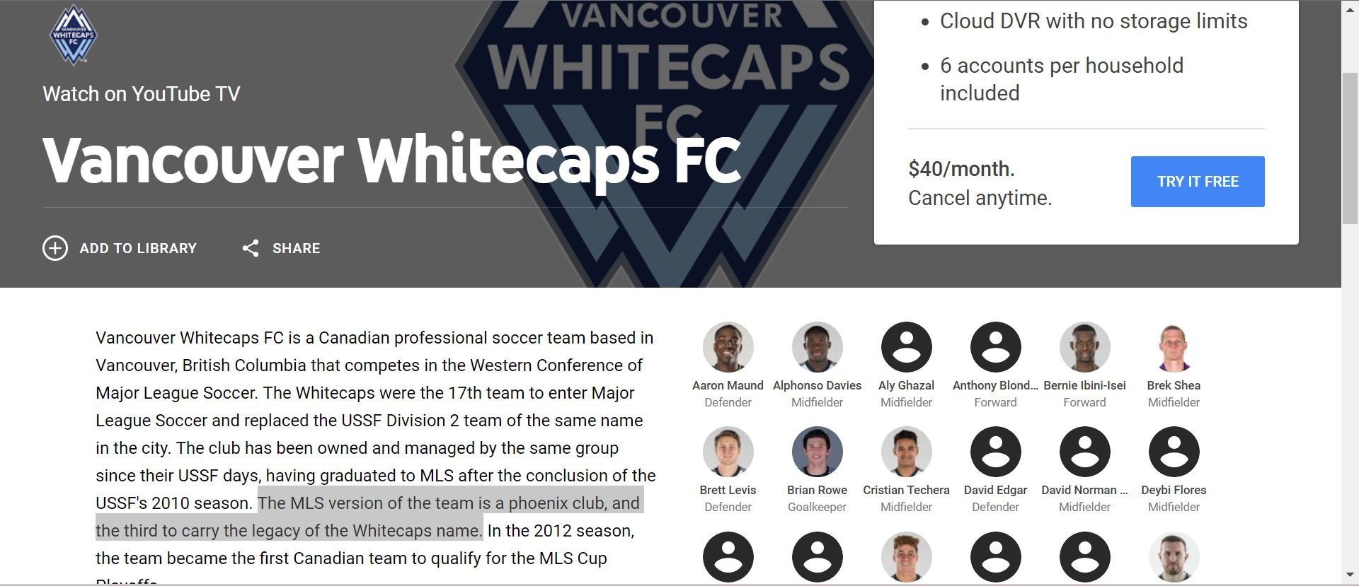 File:Whitecaps FC YouTube TV page jpg - Wikimedia Commons