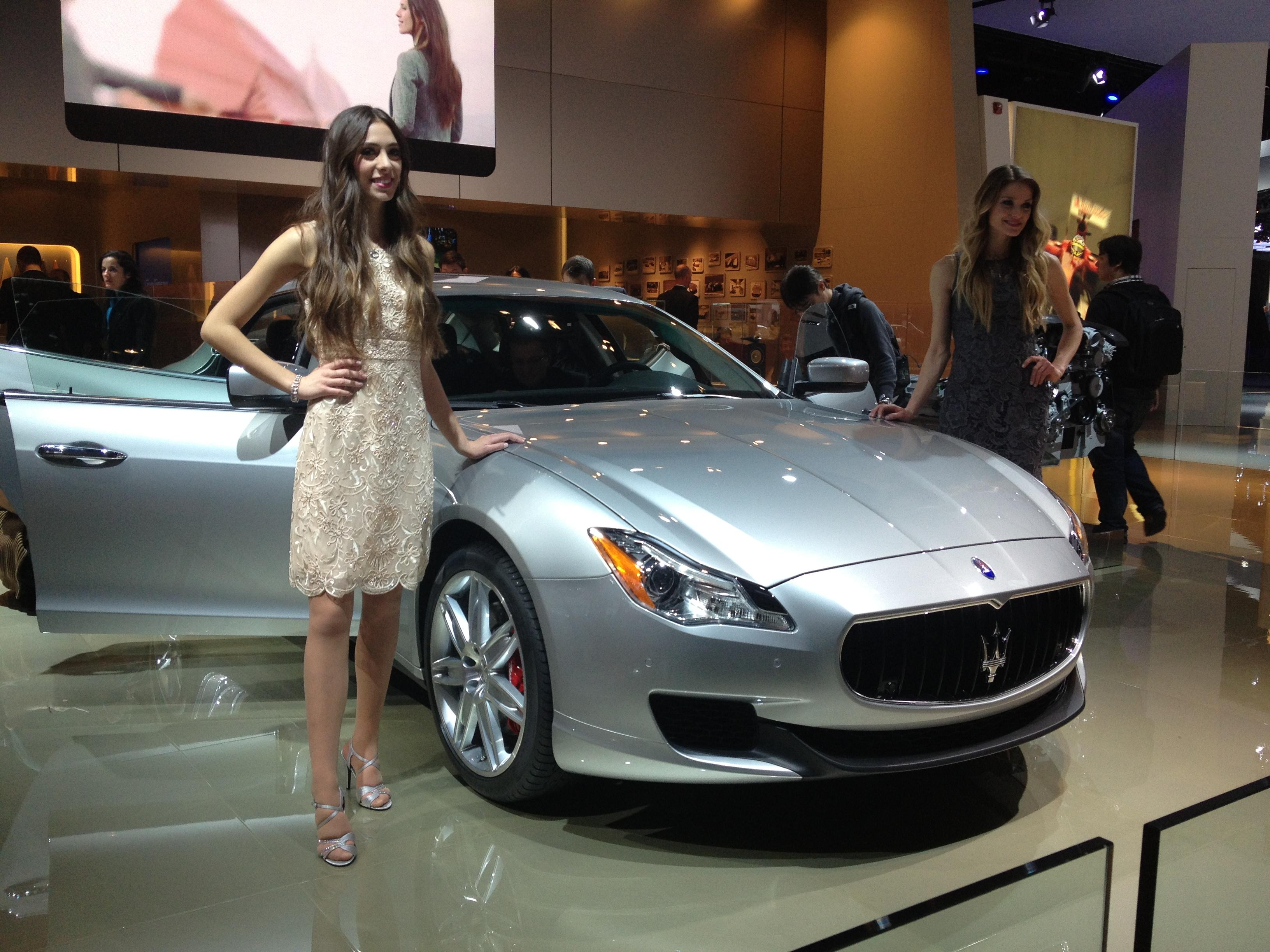 File Maserati Quattroporte Italian Luxury Sedan At Detroit