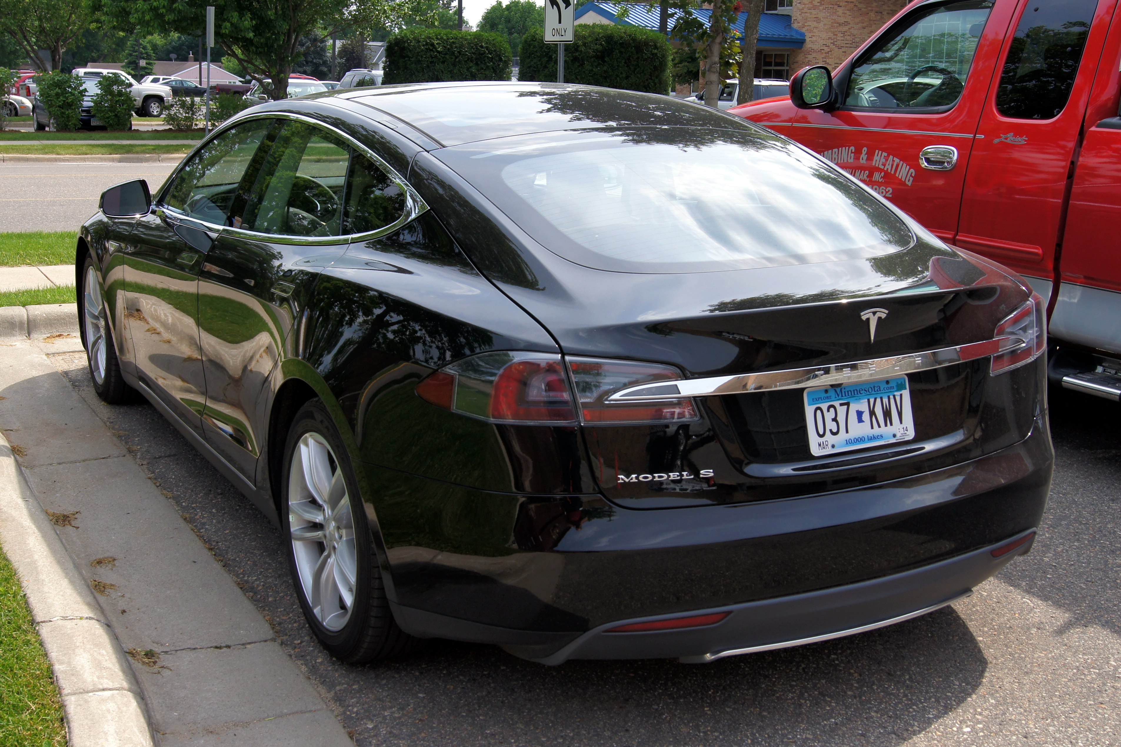 File 15 Tesla Model S Jpg Wikimedia Commons