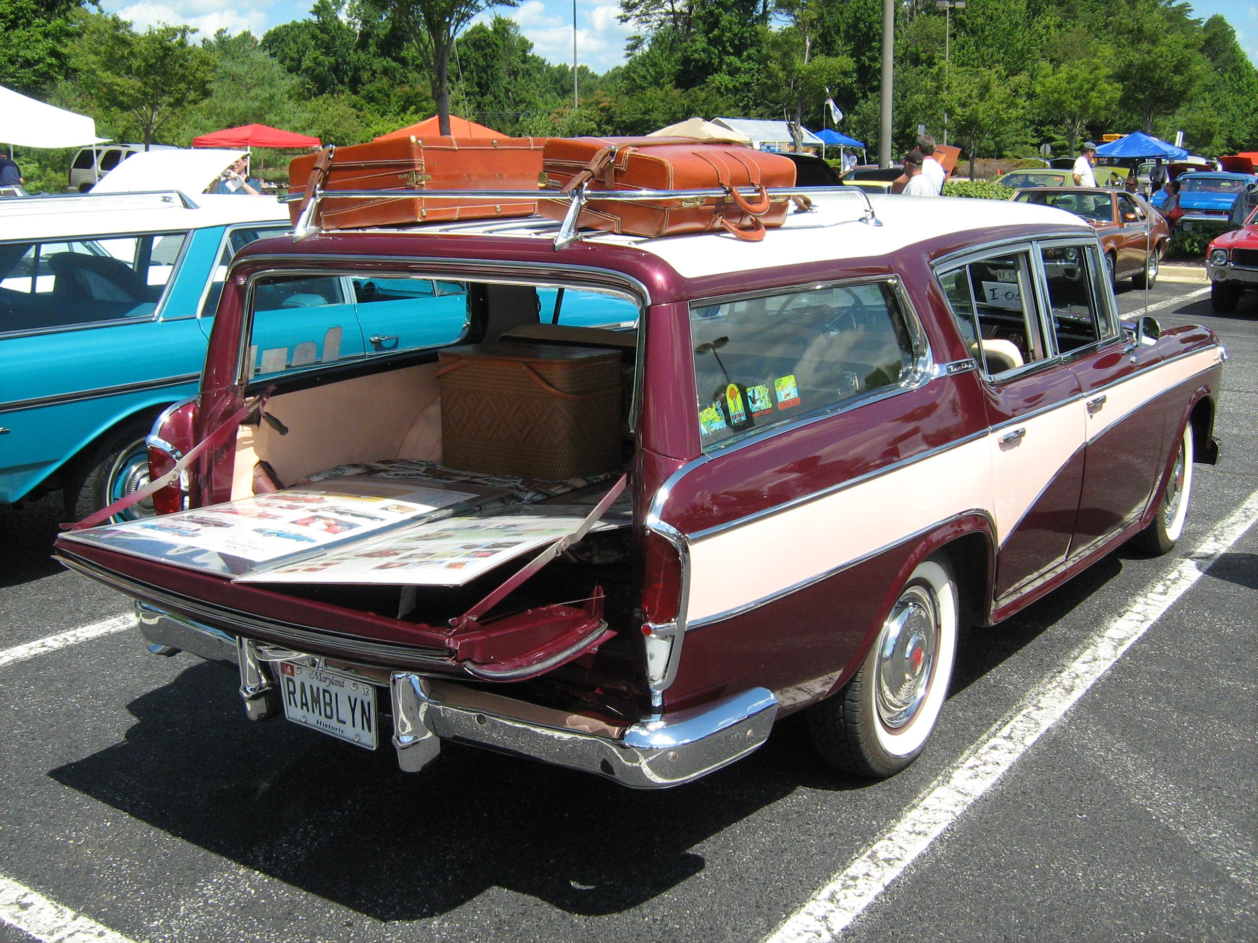 file 1957 rambler custom cross country wagon annmd. Black Bedroom Furniture Sets. Home Design Ideas