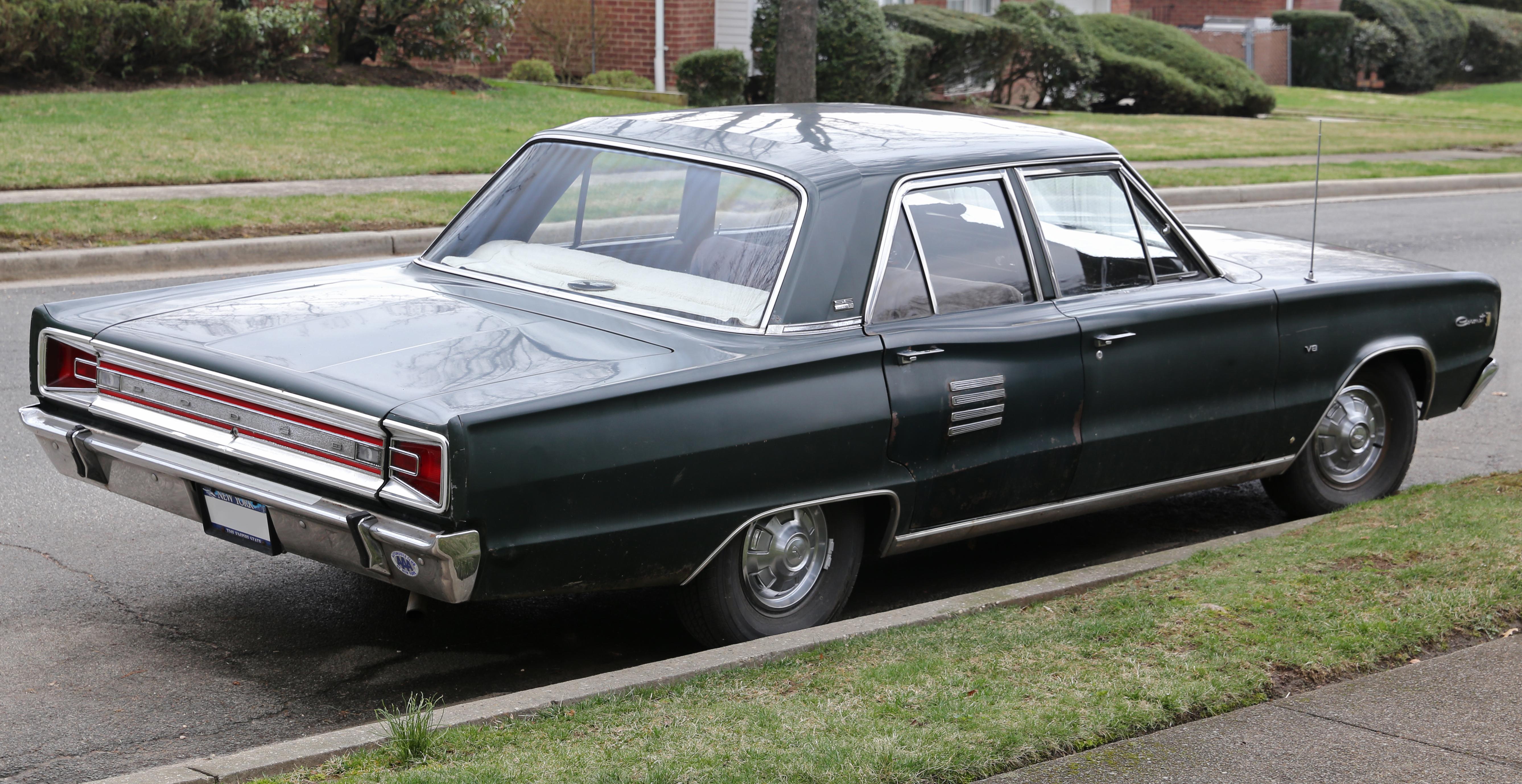 file 1966 dodge coronet 500 se rear wikimedia. Black Bedroom Furniture Sets. Home Design Ideas