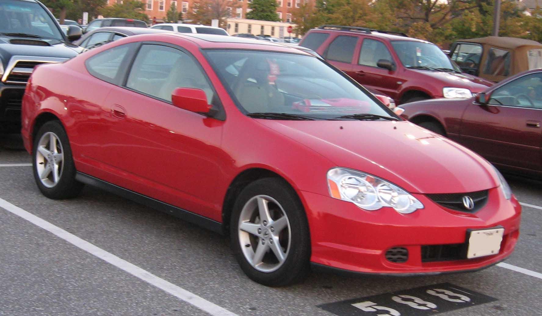 Acura Integra,numita si RSX,2002-2004