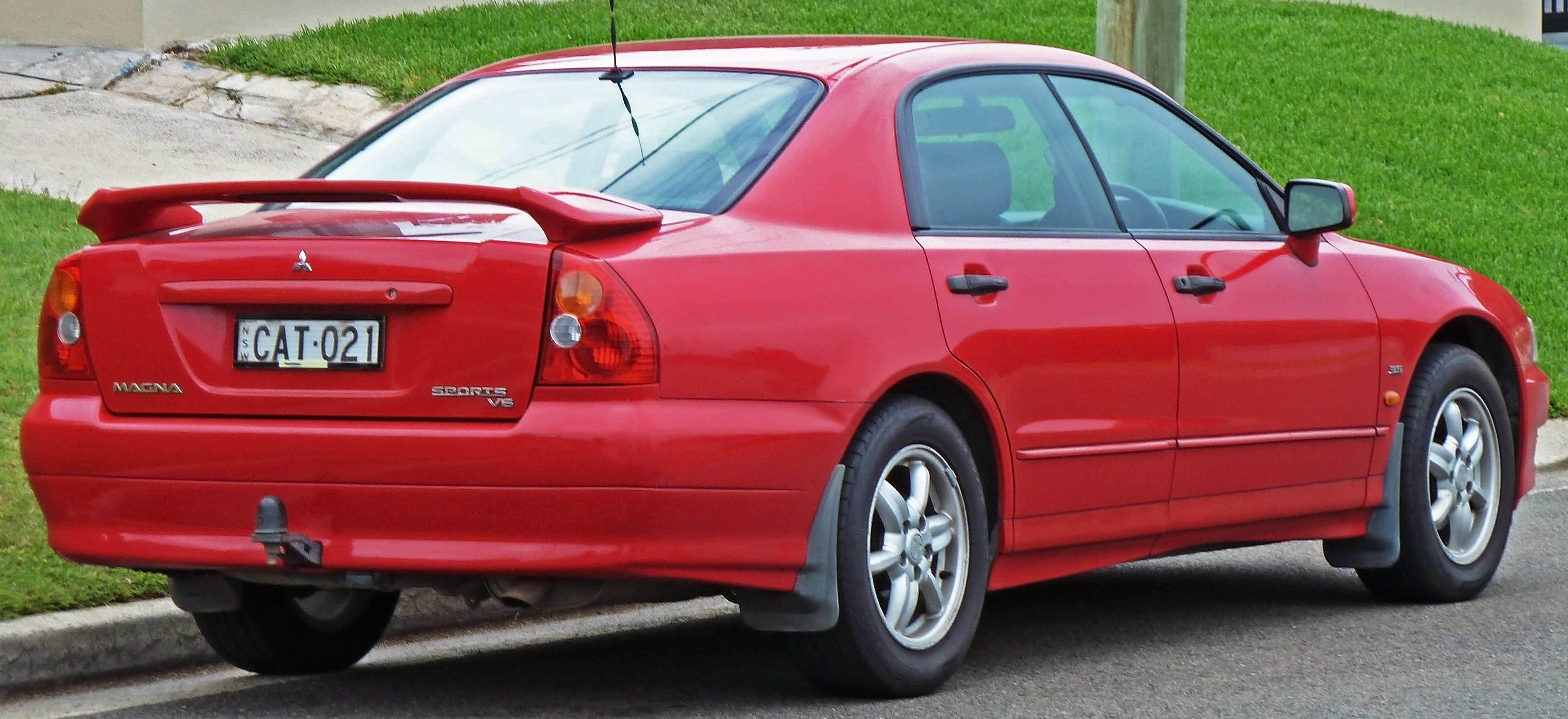 File Mitsubishi Magna Tj Sports Sedan Jpg