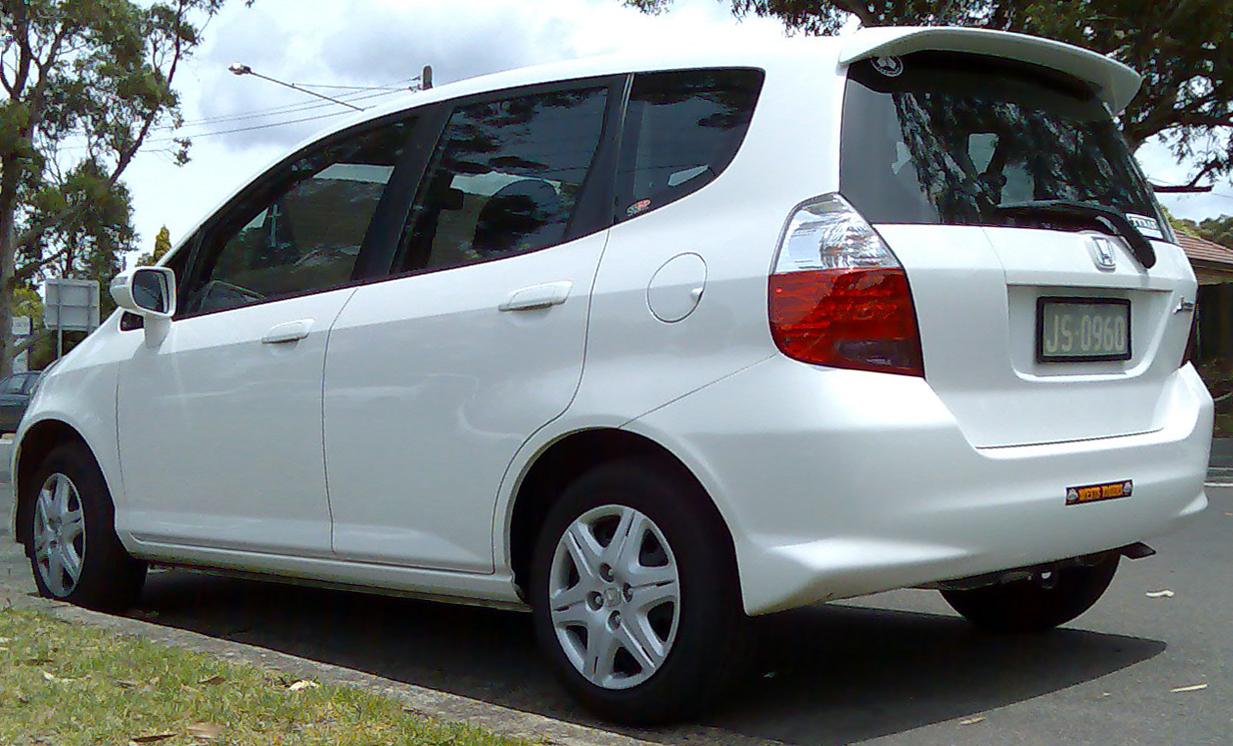 2006 Honda fit jazz