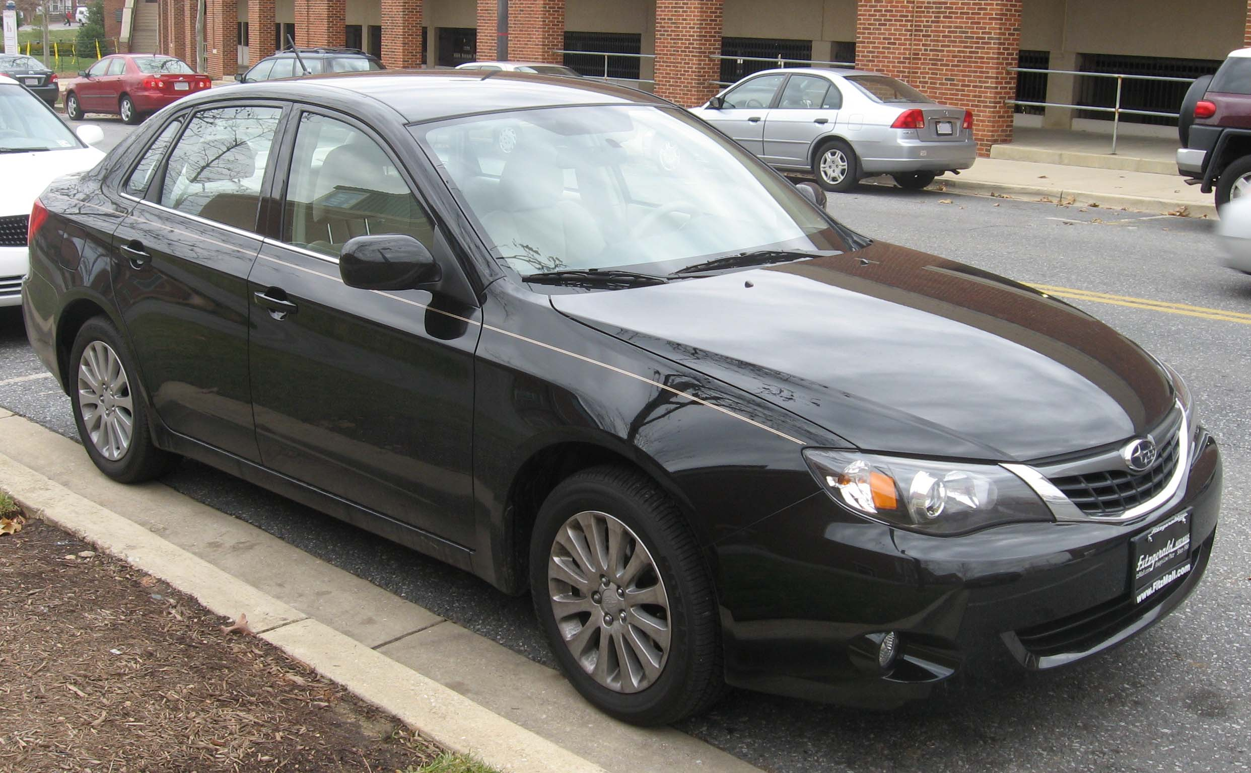2008 subaru impreza sedan