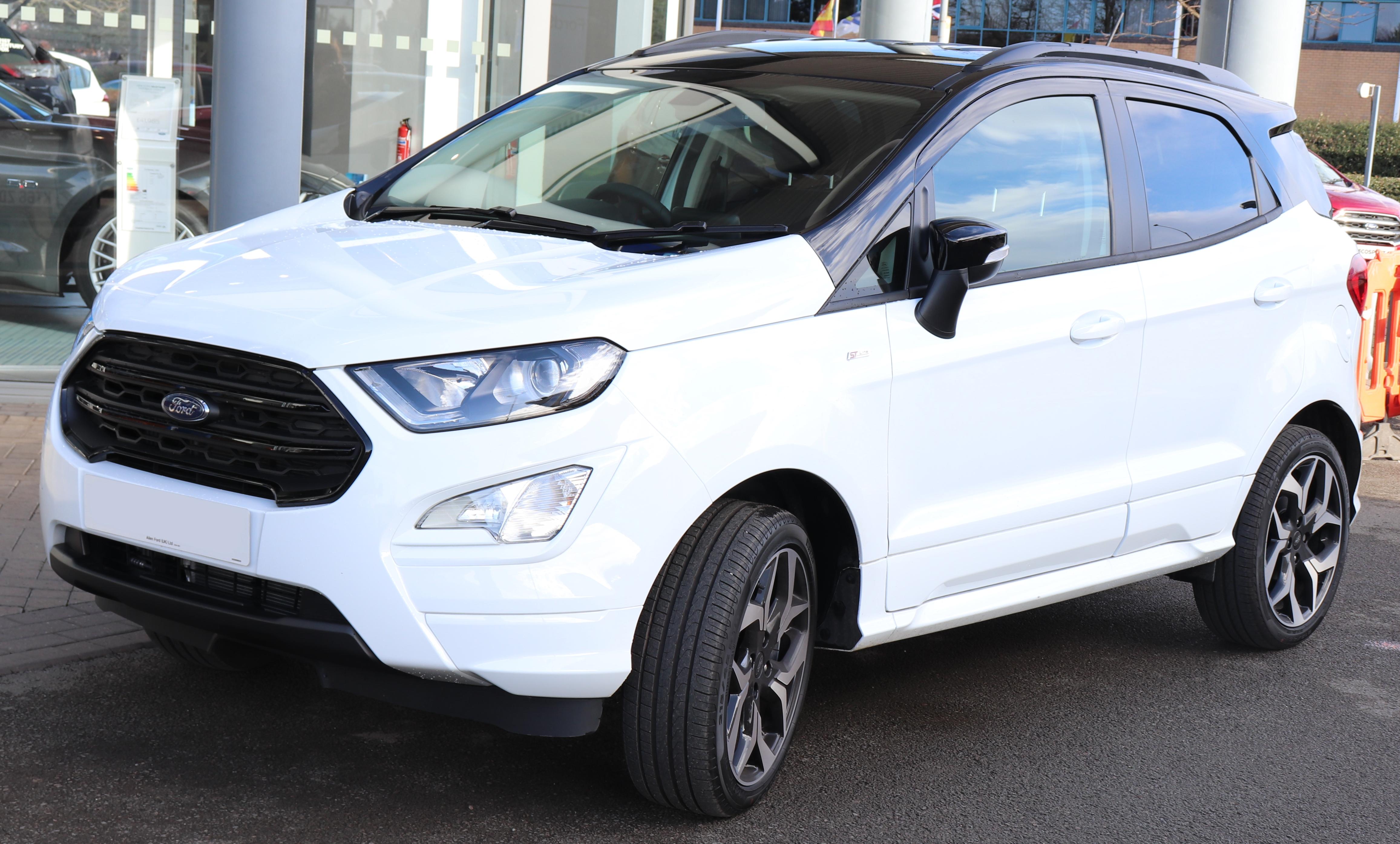 File 2018 Ford Ecosport St Line Facelift 1 0 Front Jpg