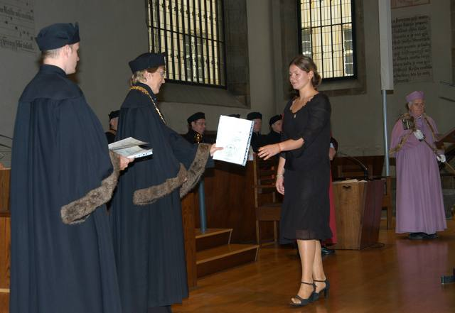 Academic ceremony Bethemel chapel Prague.jpg