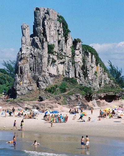 Guarita Beach in Torres.