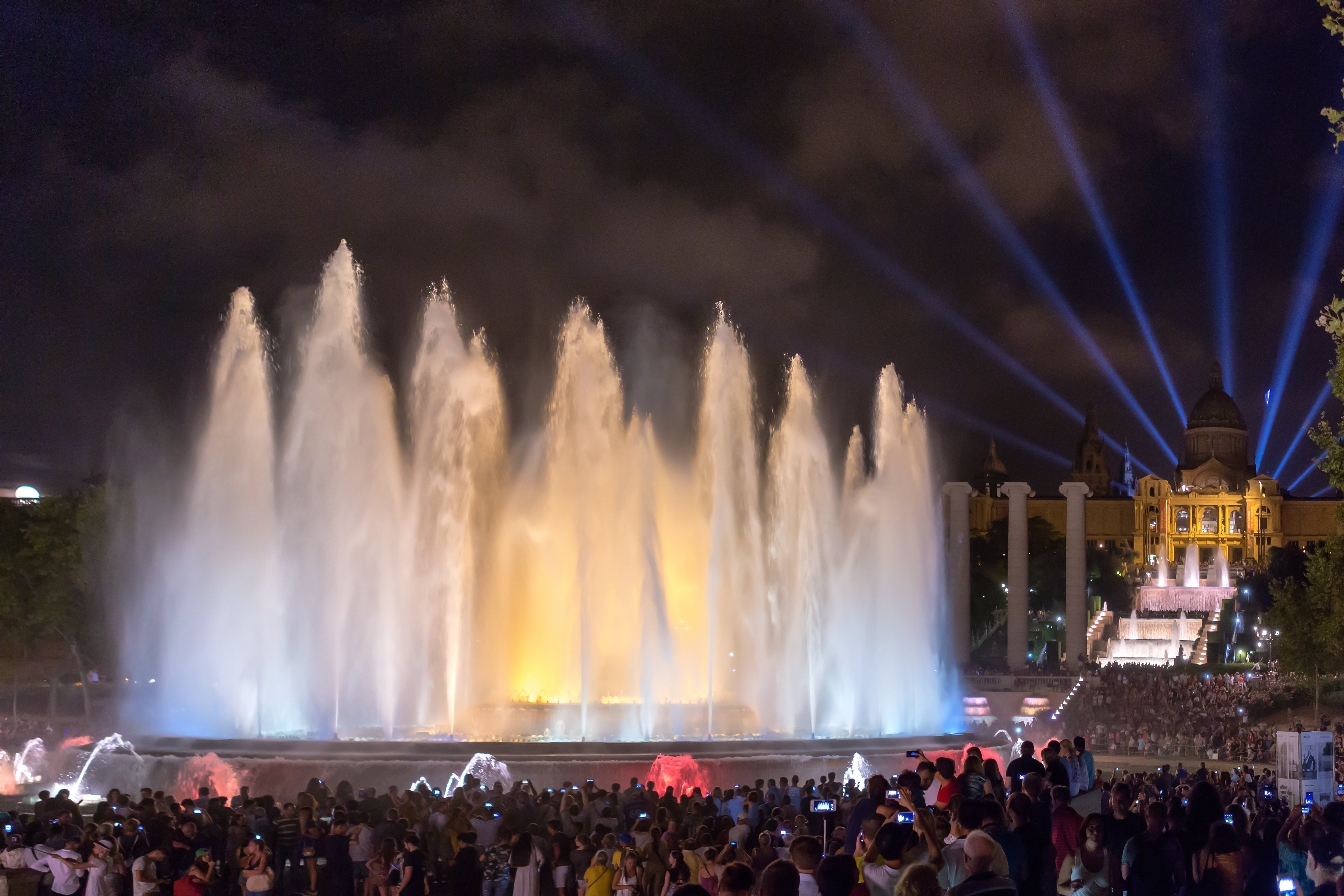 Brunnen Barcelona.Font Màgica Wikipedia