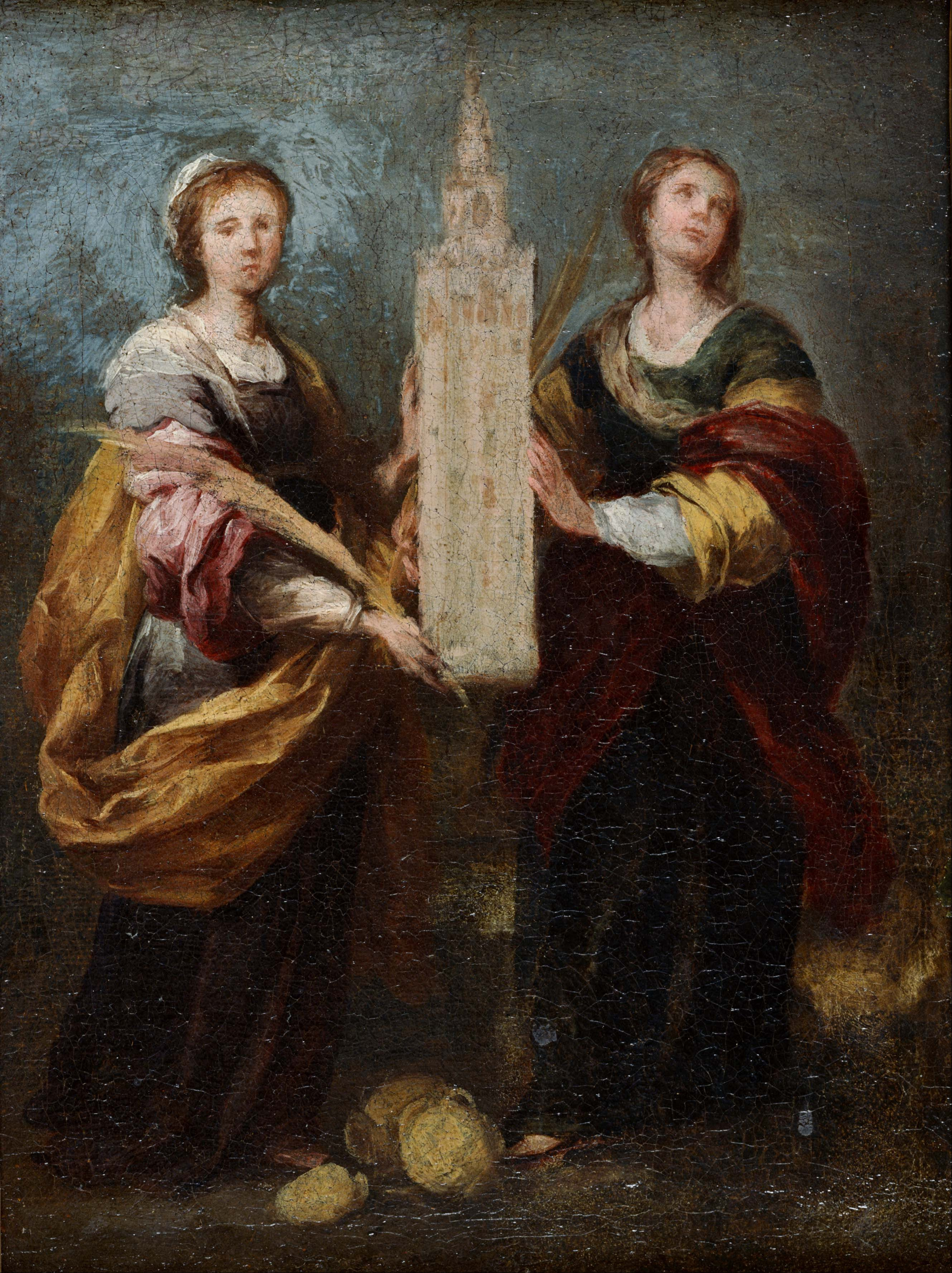 Image result for saint justa and saint rufina