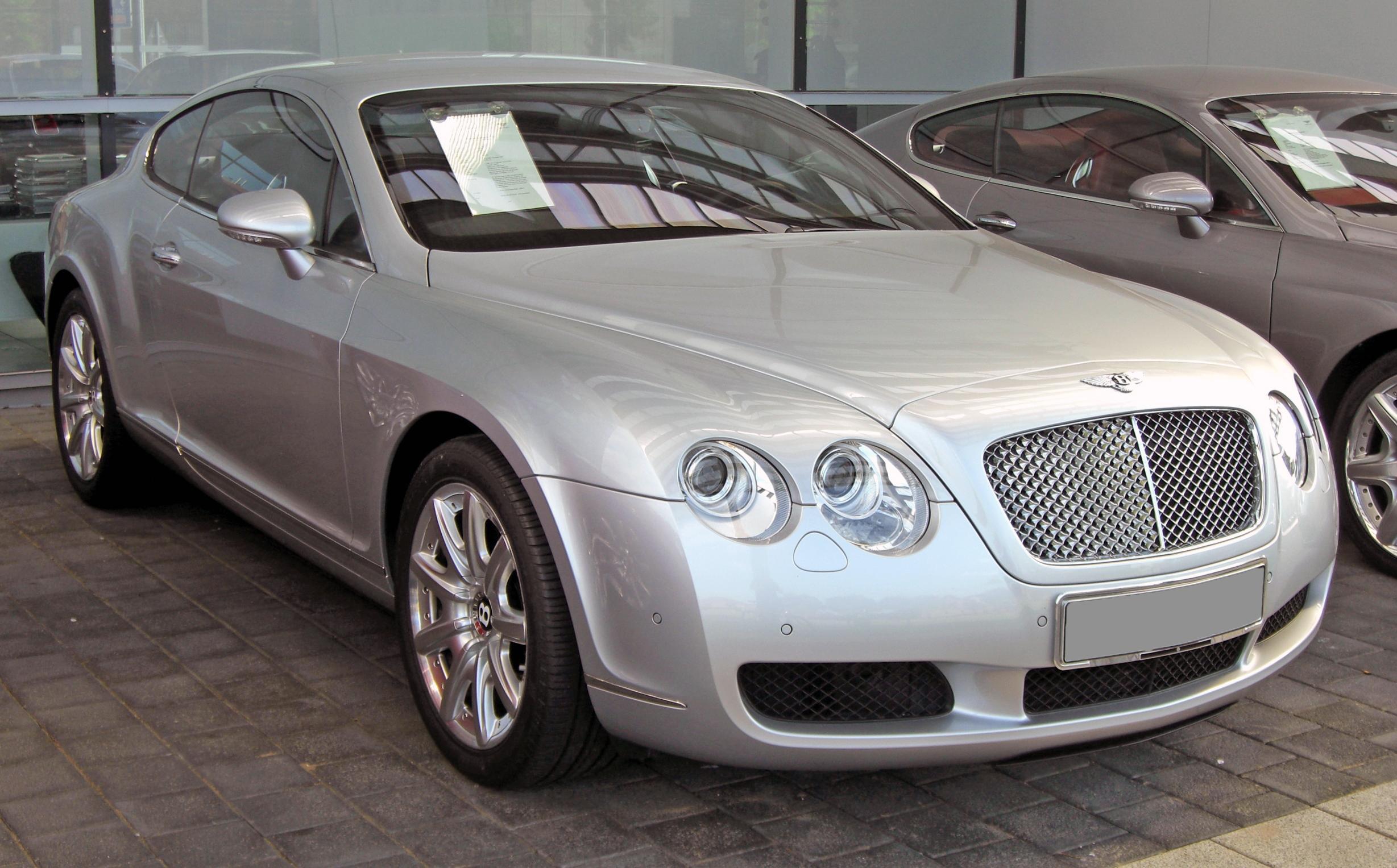 File Bentley Continental Gt 20090531 Front 3 Jpg