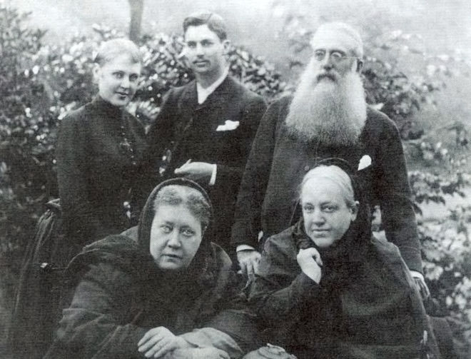 Blavatsky Olcott Johnston Zhelihovsky