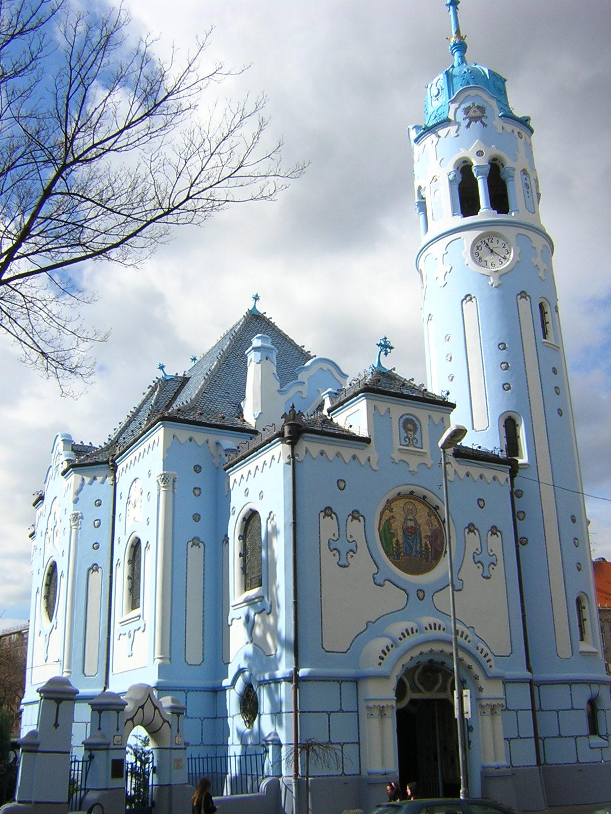 Blue Church Bratislava File:blue Church Bratislava