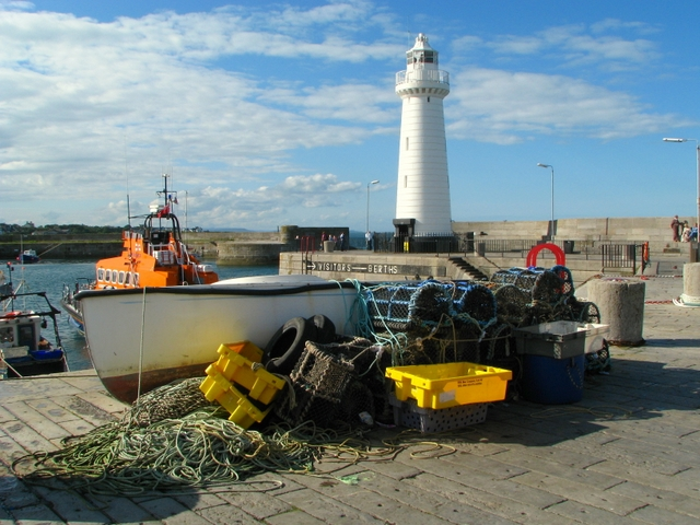 File:Boat and tackle, Donaghadee - geograph.org.uk - 935175.jpg