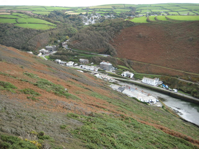 File:Boscastle from Penally Hill - geograph.org.uk - 1566735.jpg