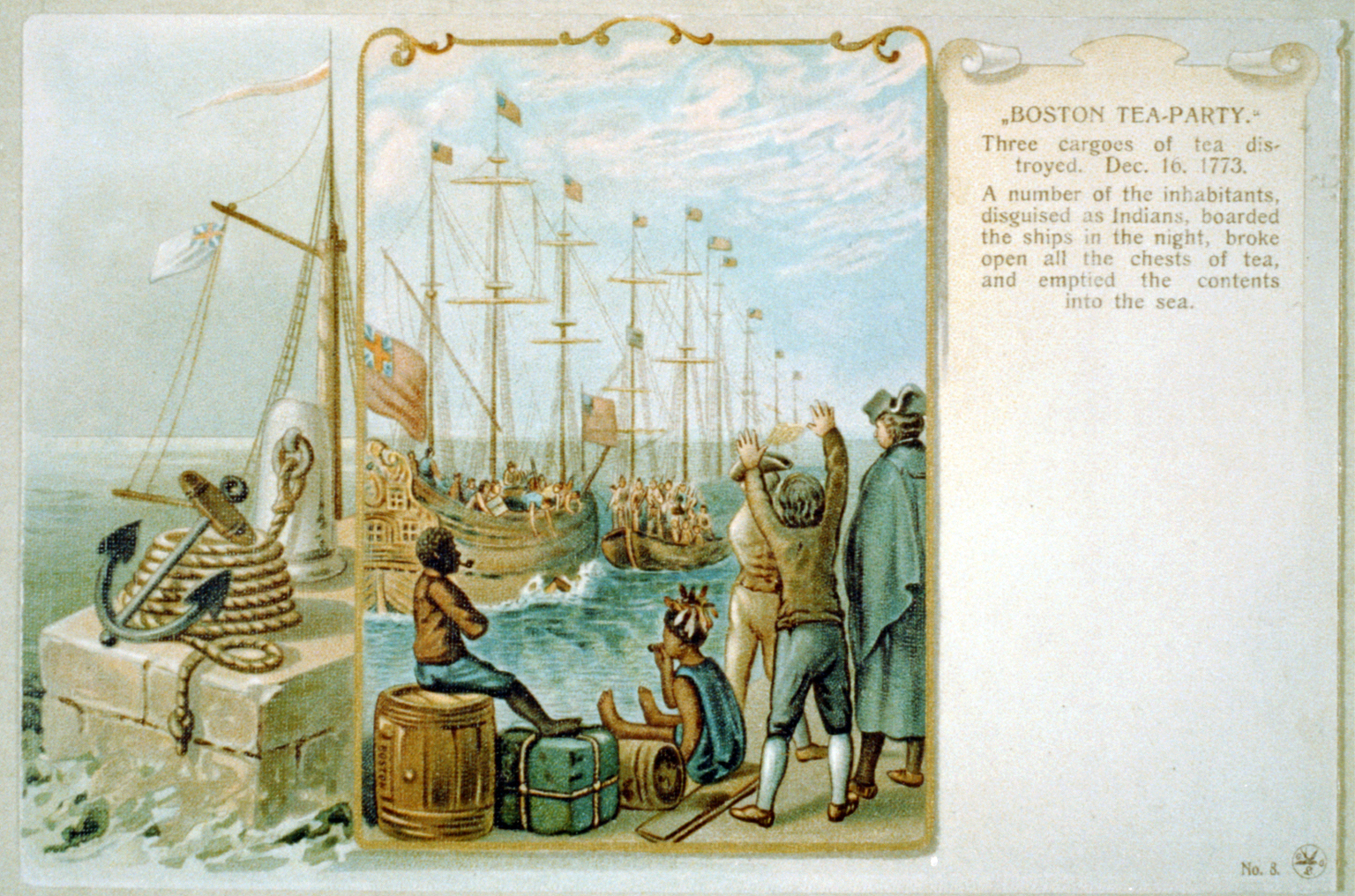 a history of the boston tea party A very historical event in us history happened on december 16, 1773 it would be known has the boston tea party.
