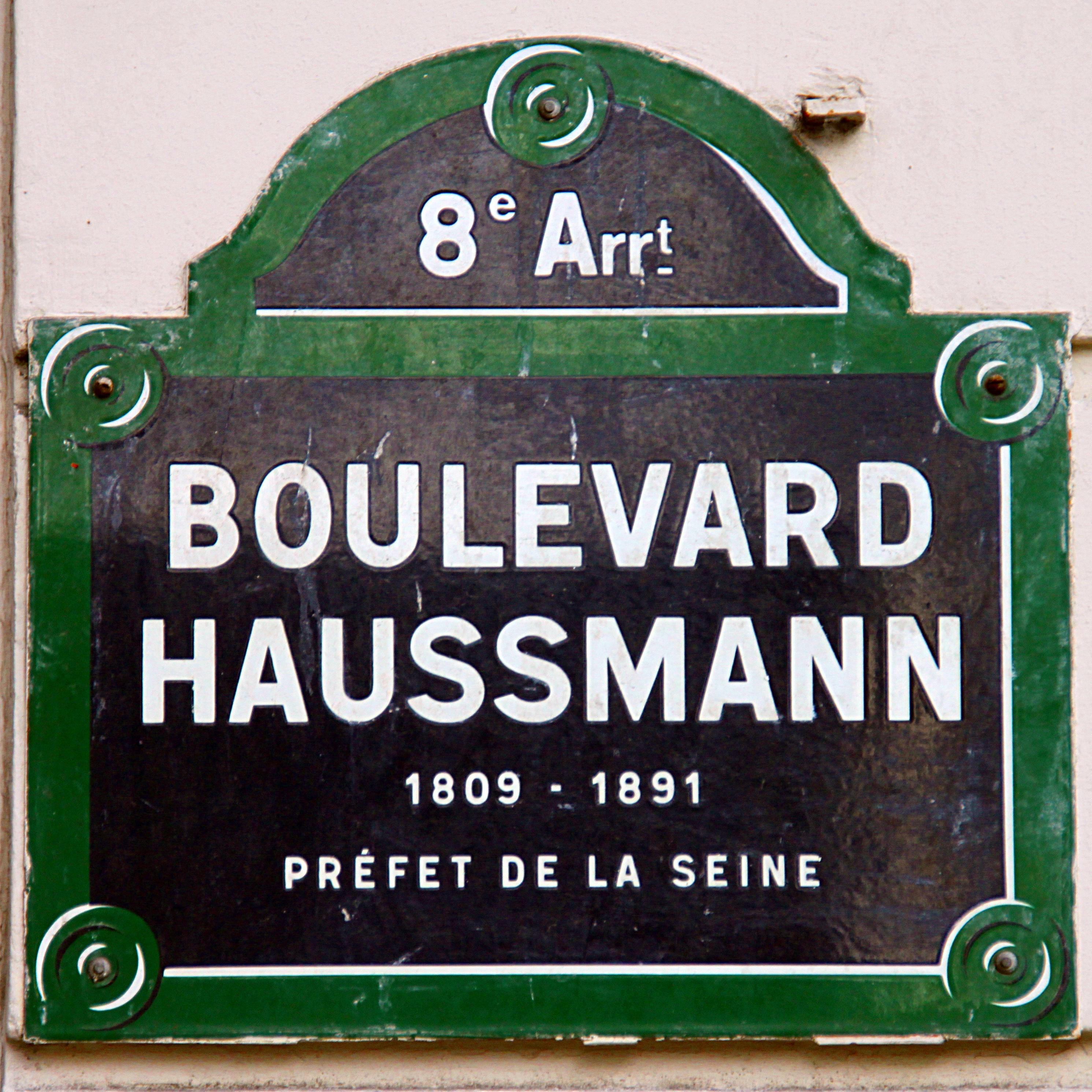 Afbeeldingsresultaat voor paris boulevard haussmann