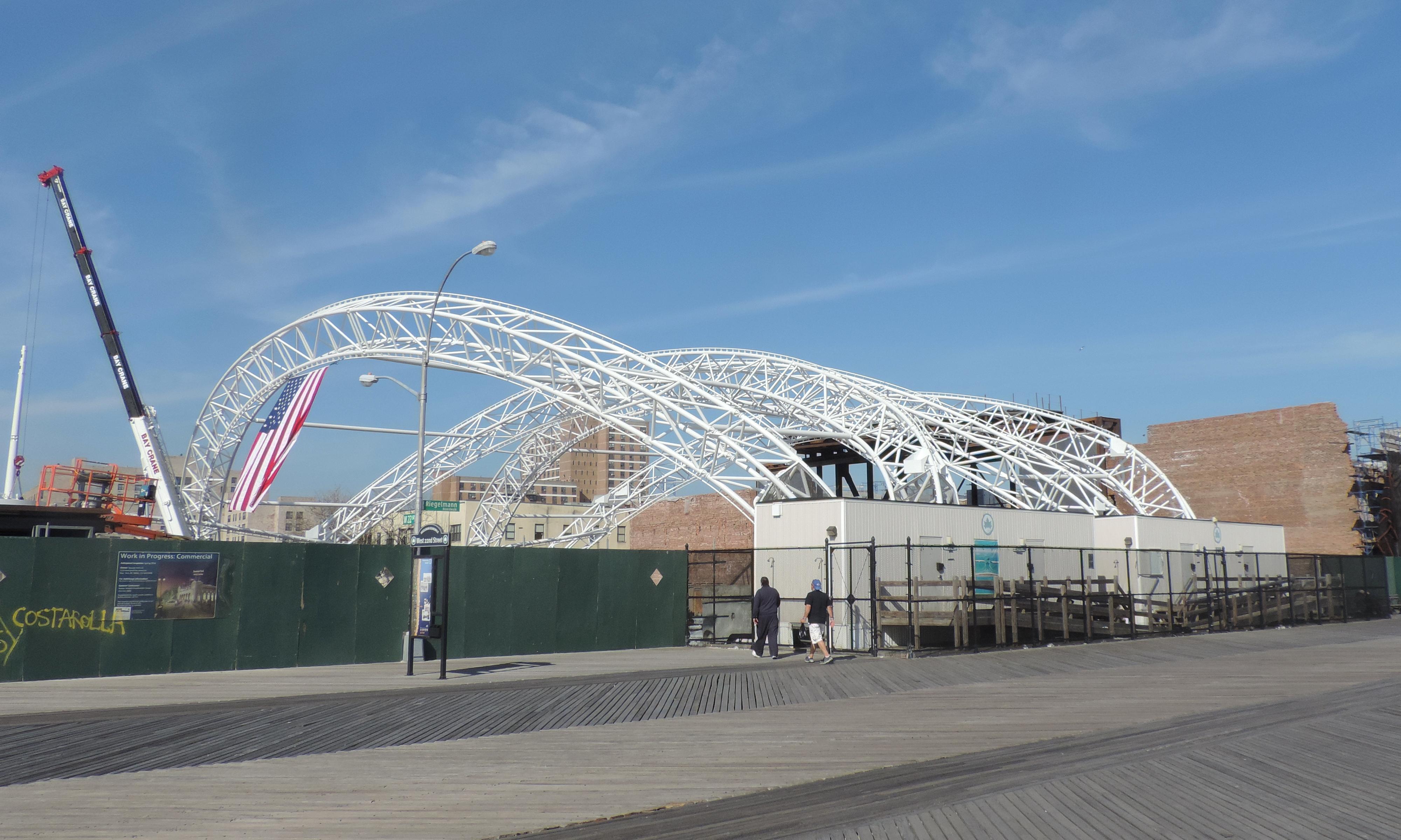 Coney Island Amphitheater Brooklyn New York