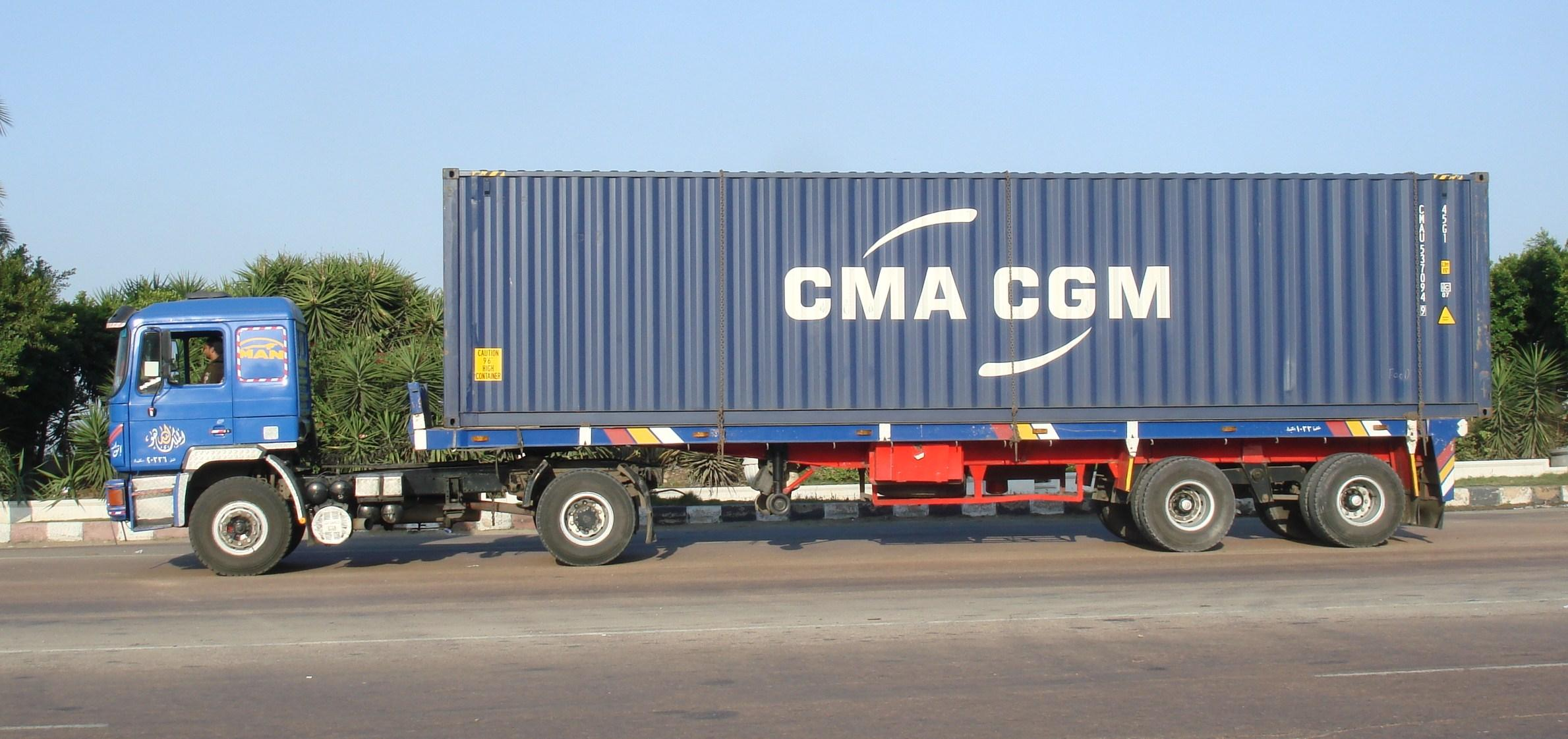 Indian Container Truck...