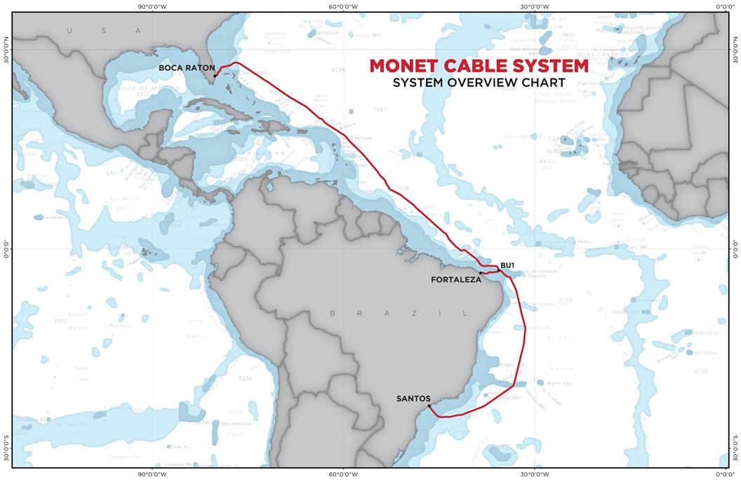 Monet (submarine cable) - Wikipedia