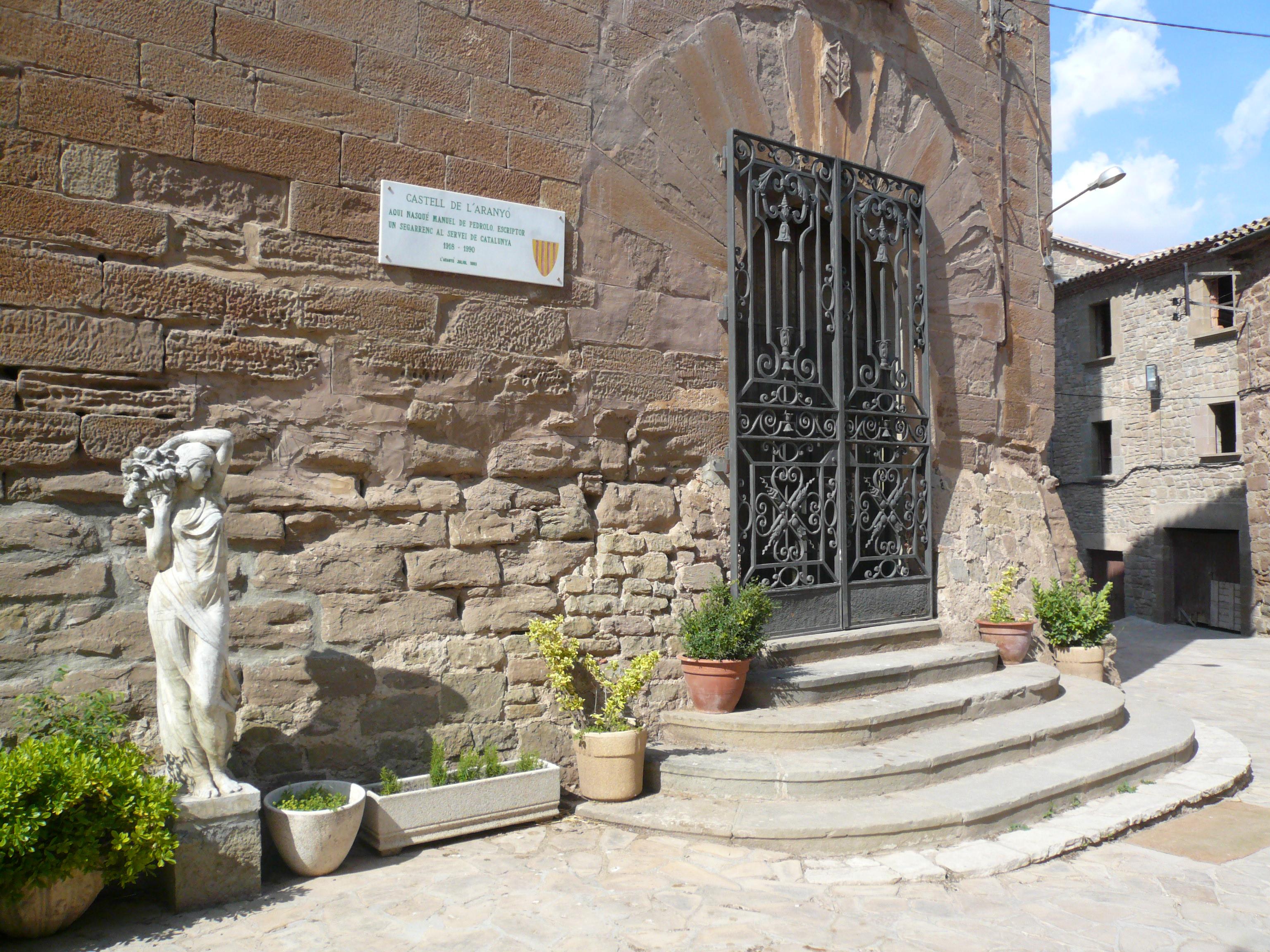 Castillo donde nació Manuel de Pedrolo