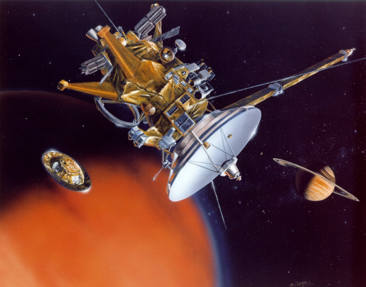 Cassini-Huygens Titan Mission - Pics about space