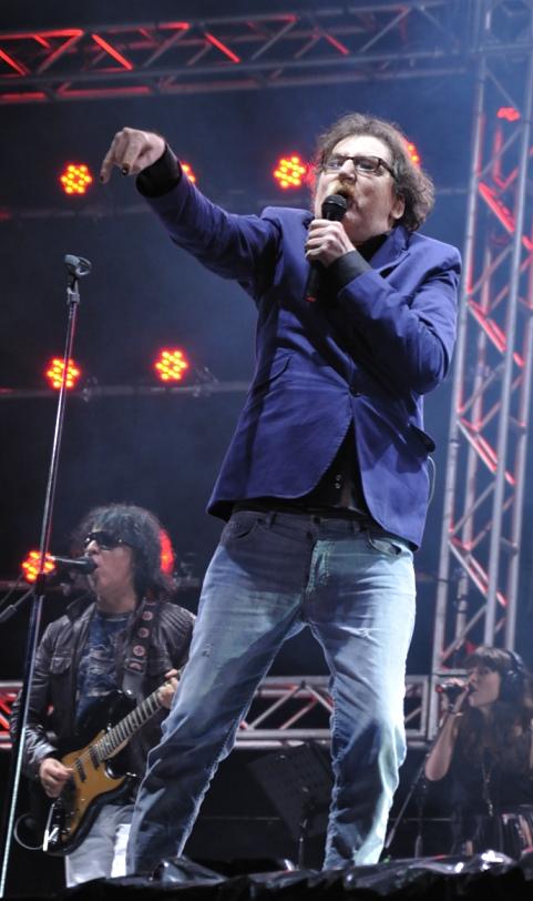 Charly García en el Cosquín Rock 2011.