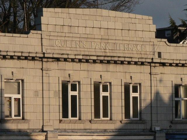 File charminster queen 39 s park terrace detail geograph for 50 park terrace west