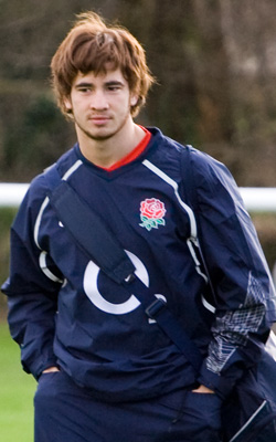 Photograph of England rugby player Danny Cipri...