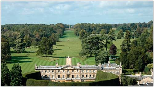 Cirencester Park Country House