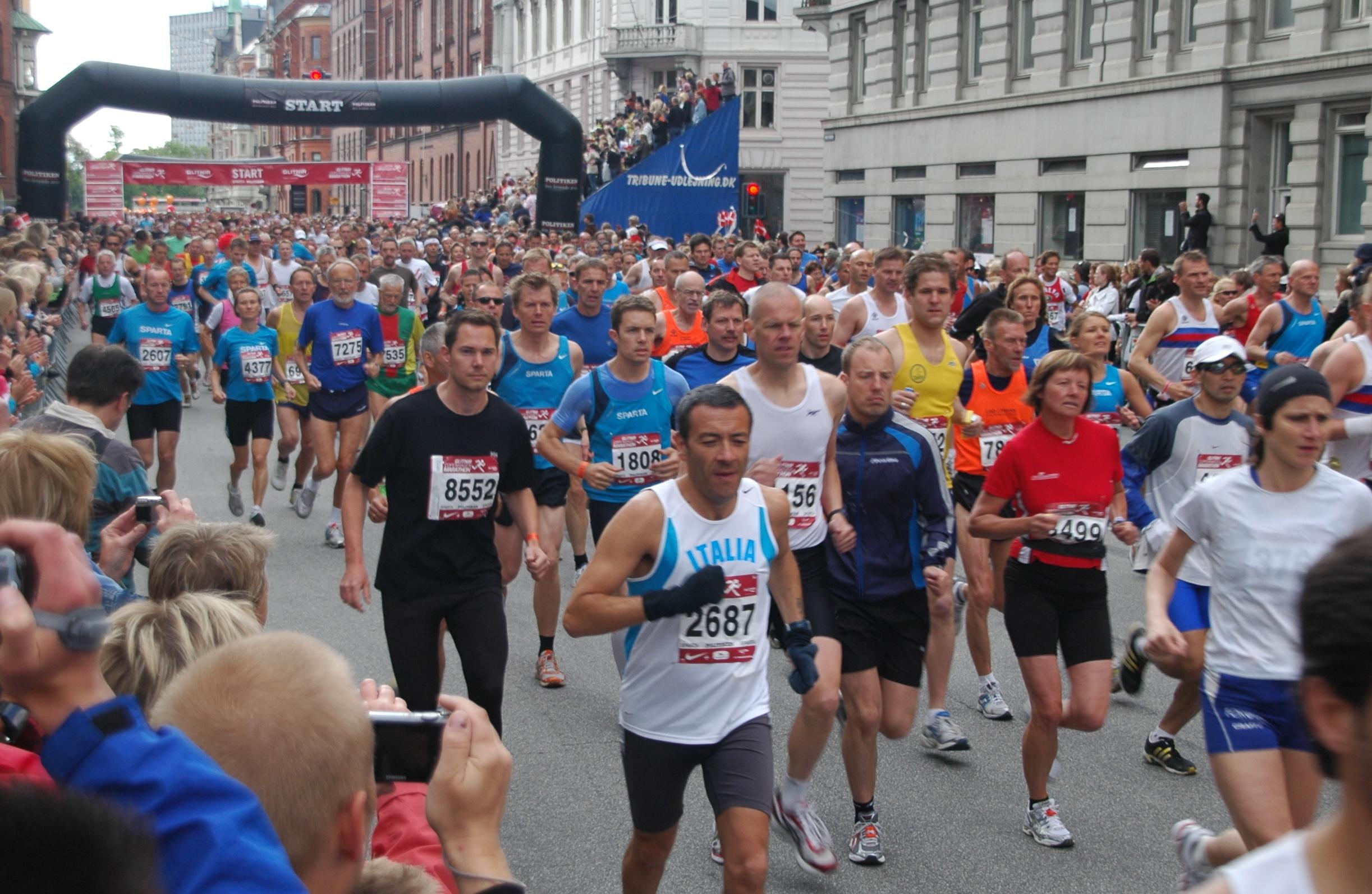 marathon kvinden bog