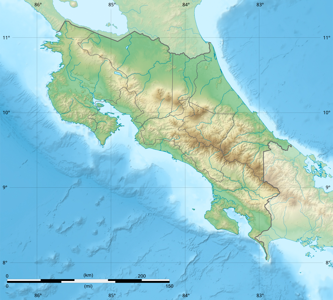Image:Costa Rica relief location map