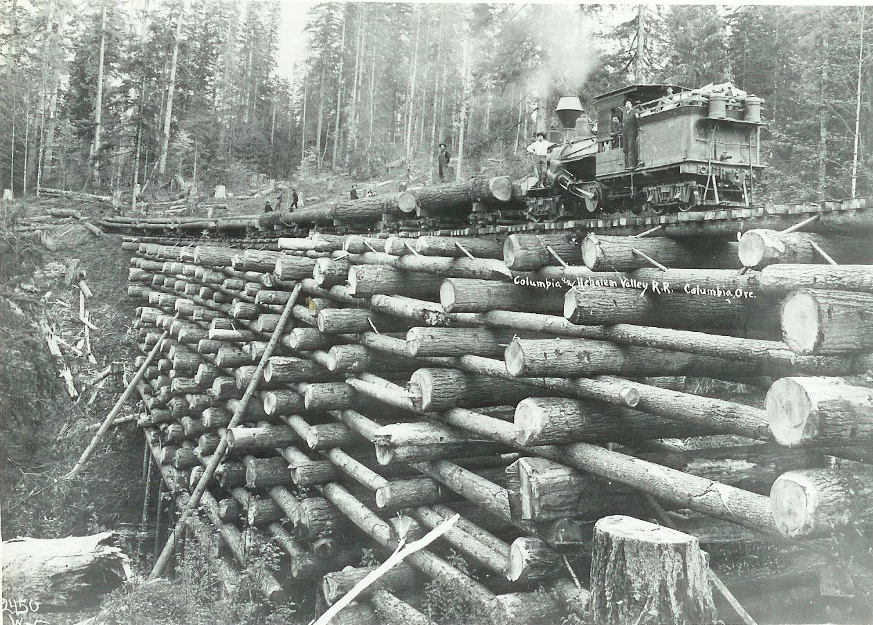Columbia And Nehalem Valley Railroad Wikipedia