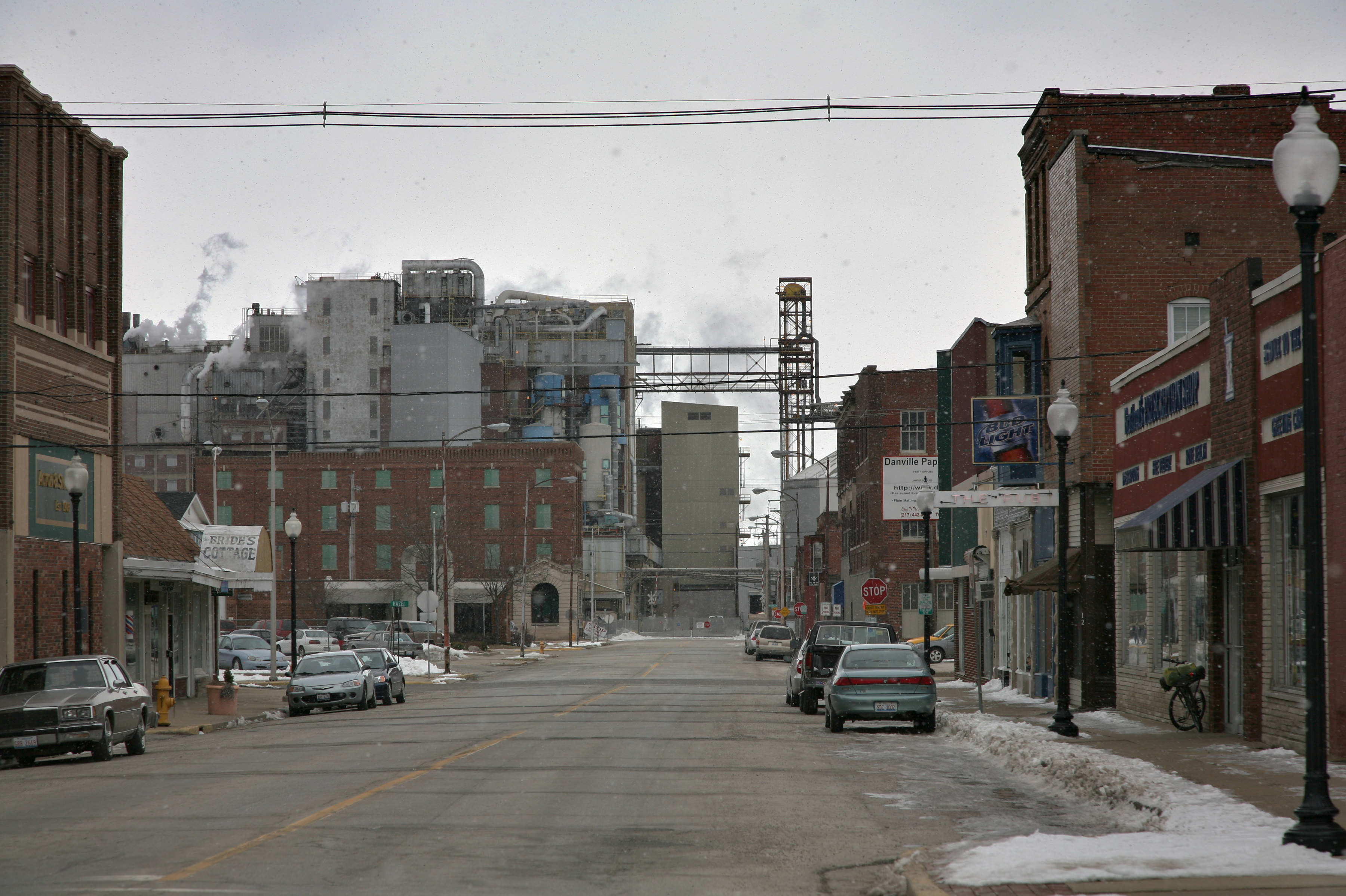 Danville (IL) United States  city images : Danville, IL grain mill