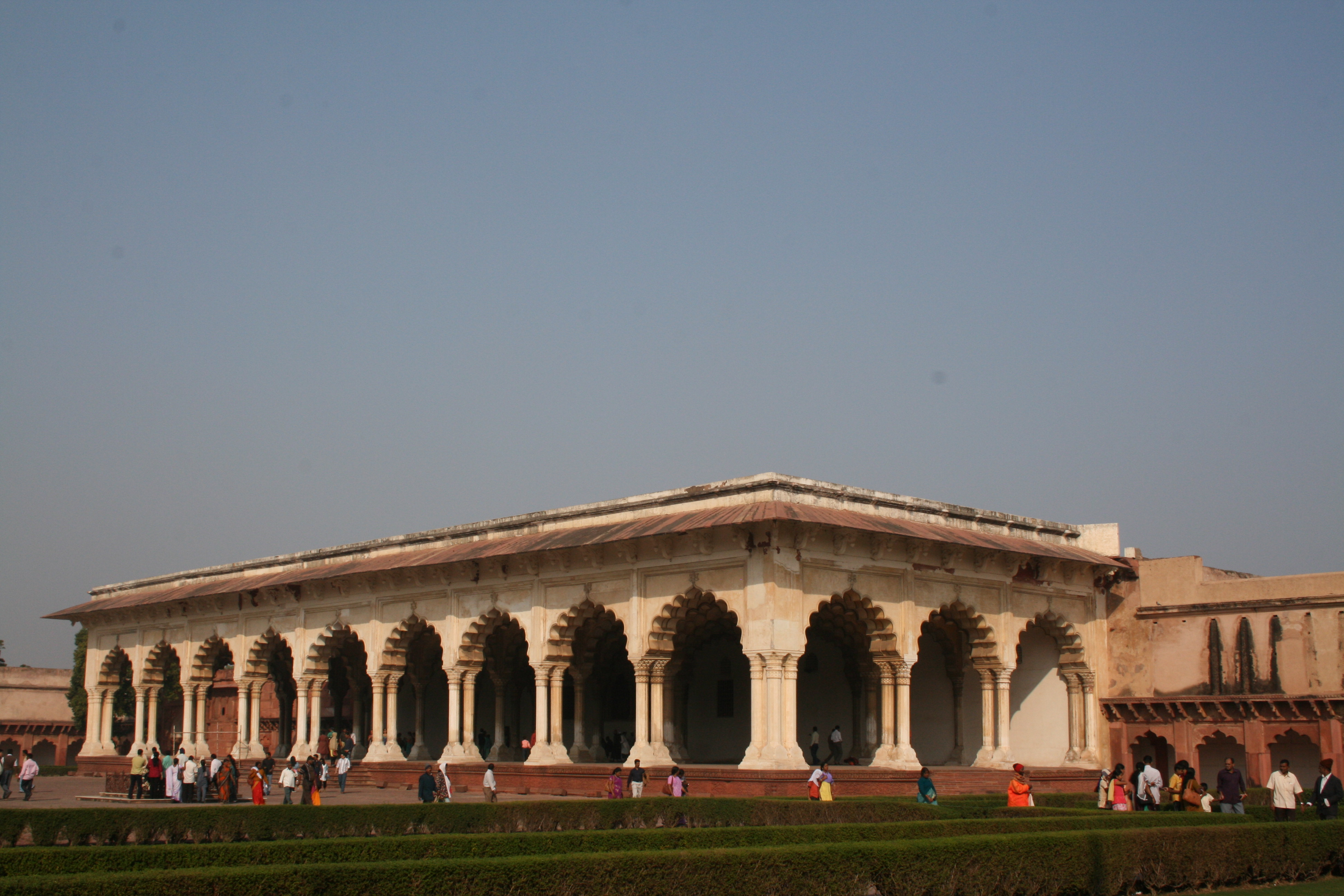 Diwan i am red fort for Diwan i khas agra fort