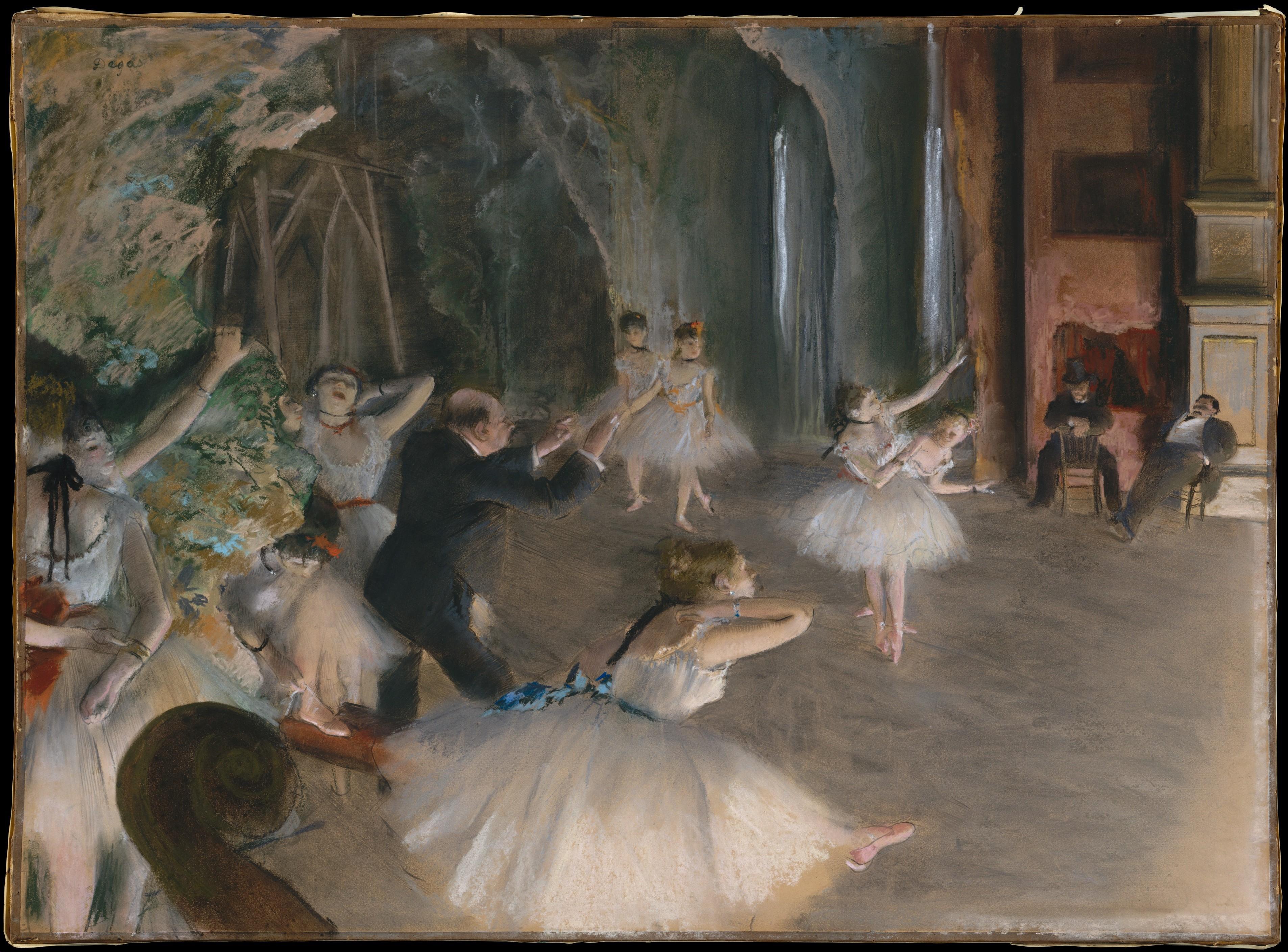 pintar-paisajes-impresionismo-Degas-ensayo-ballet