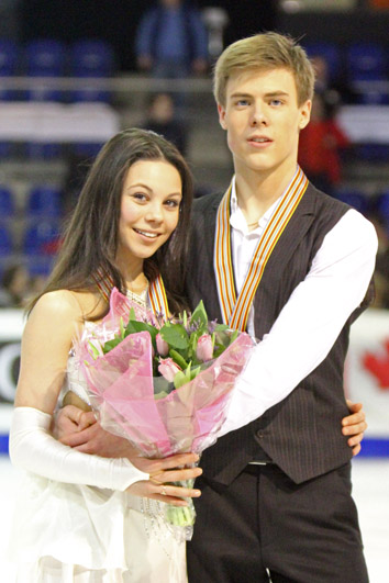 Elena Ilinykh and Nikita Katsalapov were the junior record holders of the eliminated original dance. At the time they were also the record holders of free dance and combined total scores.