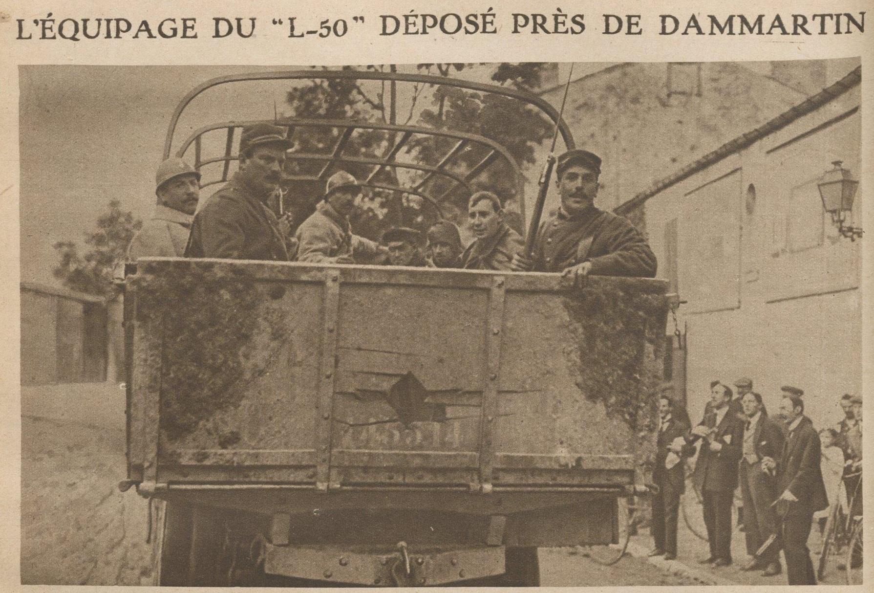 File equipage captur du zeppelin l 50 pr s de dammartin for Prisonniers du miroir