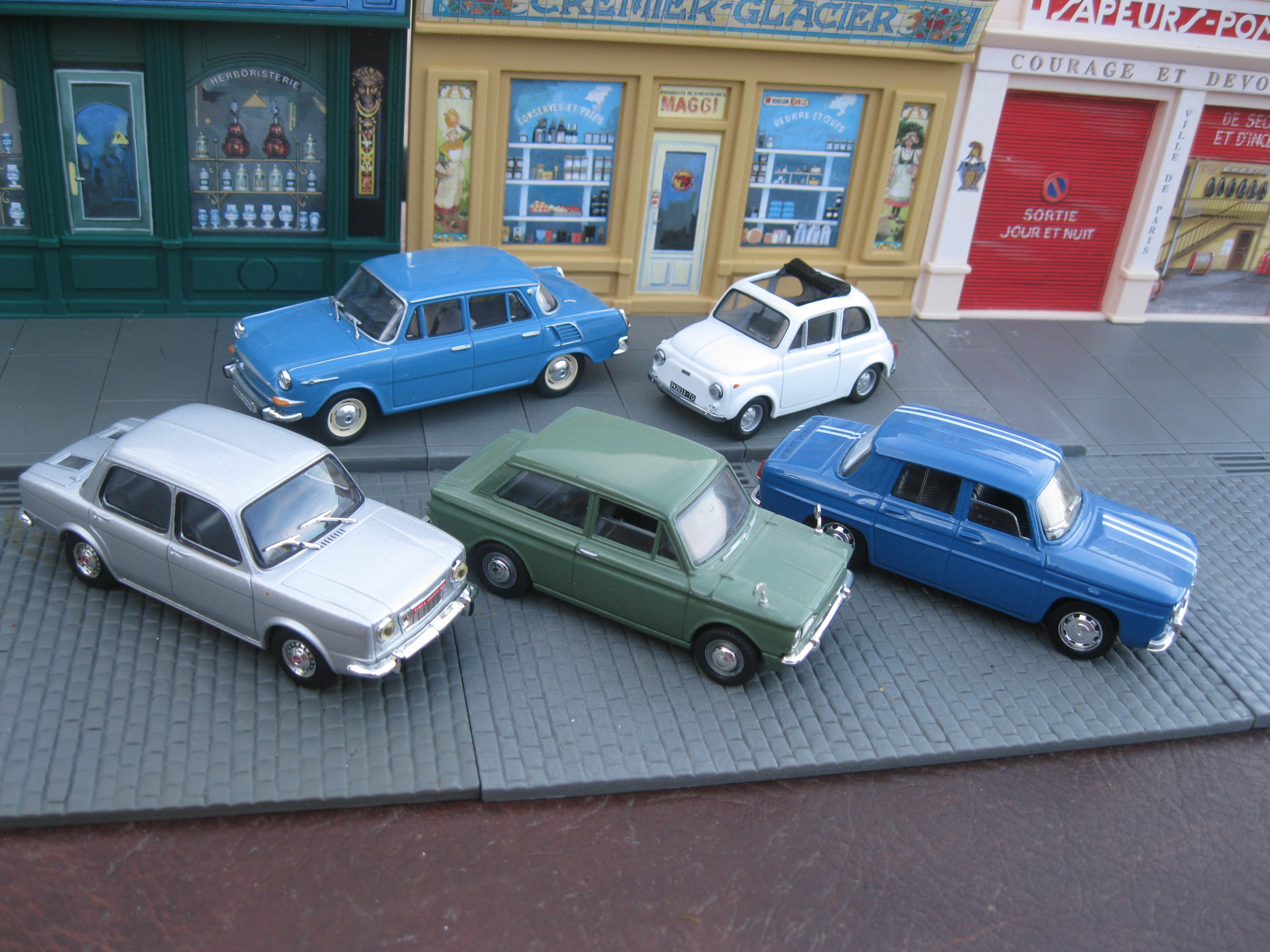 File:European rear engined saloon collection- Simca 1000 (1150 ... on