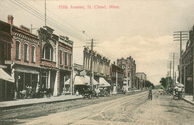 St. Cloud (MN) United States  city photos : St. Cloud, Minnesota circa 1910 Public domain image courtesy of ...