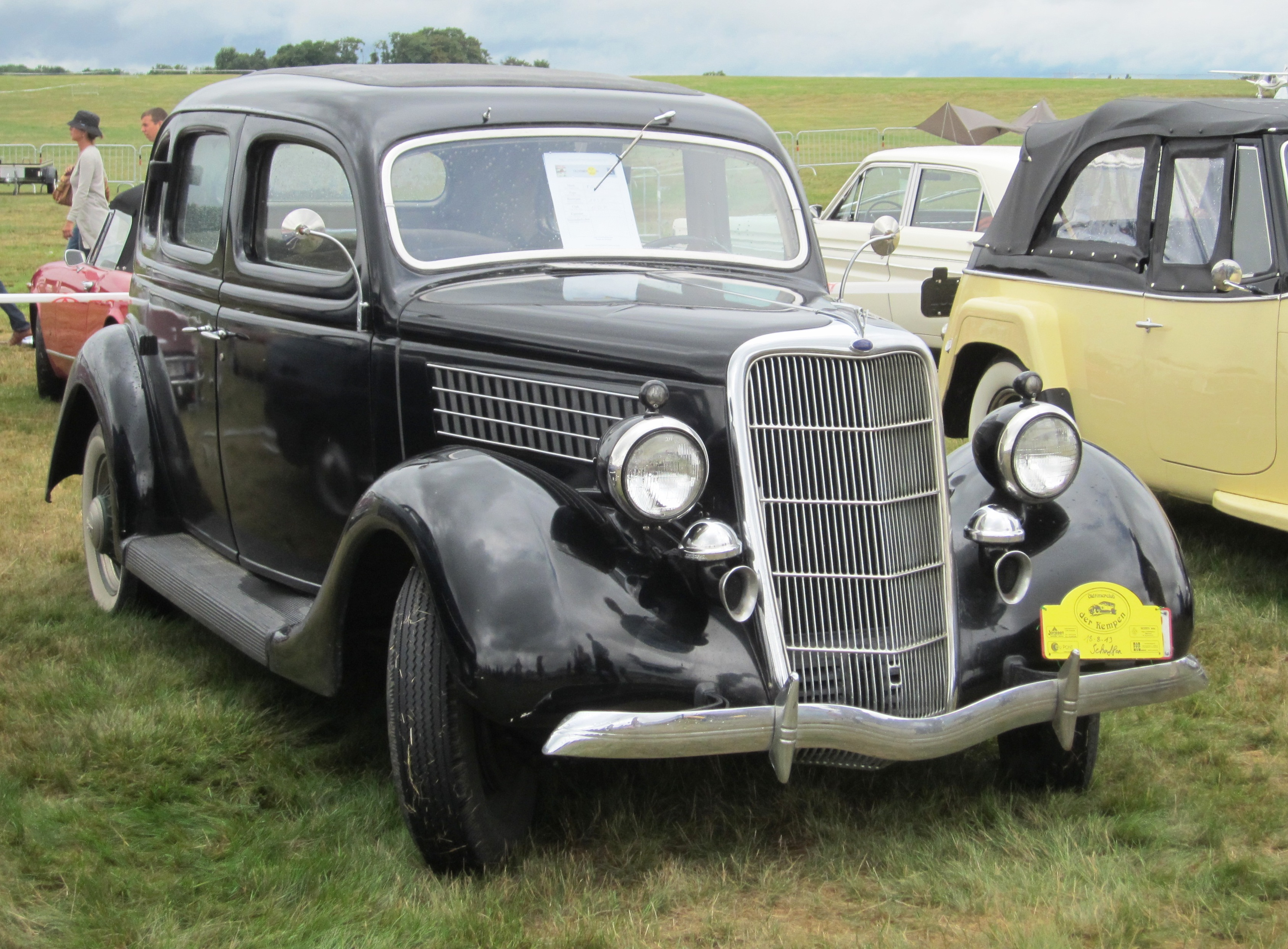 Fileford v8 1935 model v8 48 3620cc from before the end of 1936