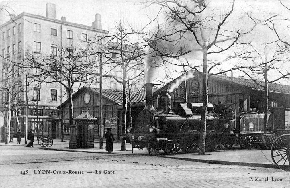 Gare de lyon croix rousse wikip dia for Garage lyon croix rousse