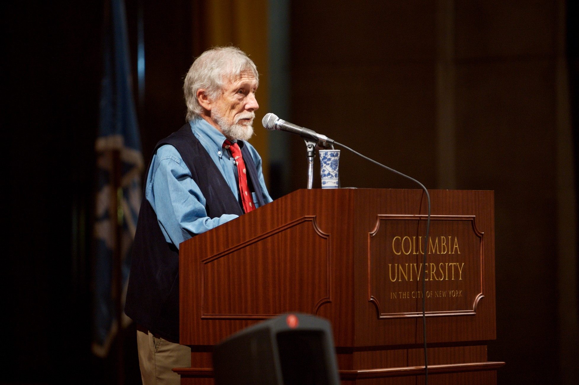 Portrait of Gary Snyder