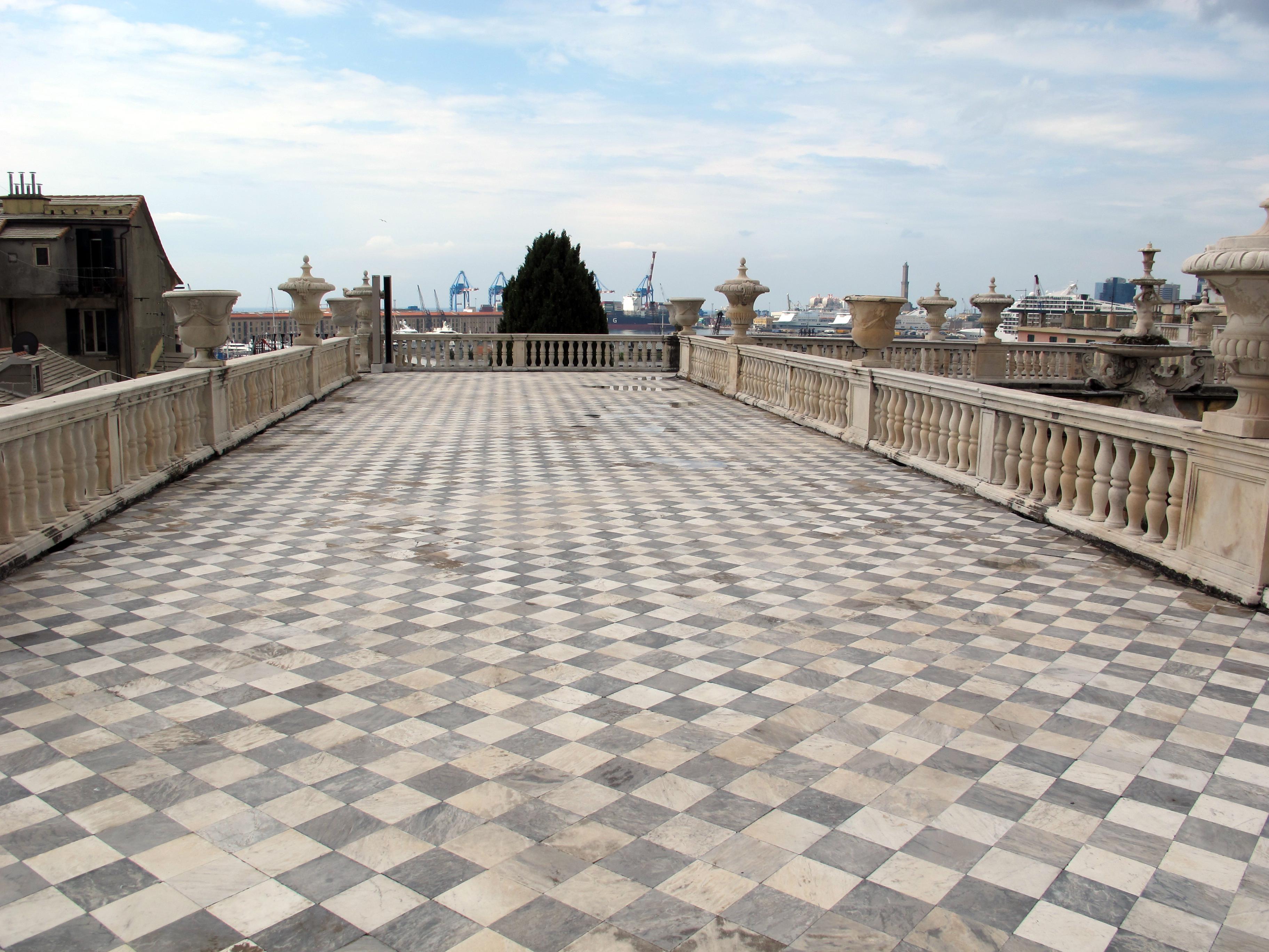 File:Genova, palazzo reale, terrazza 01.JPG - Wikimedia Commons